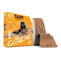 KT Tape PRO Extreme Therapeutic Elastic Kinesiology Sports Tape, 150 Pre Cut 10 X 2 Inch I-Strips, 100% Synthetic, Water Resistant, Breathable, Professional & Olympic Choice Assorted Colors