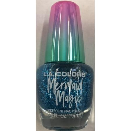 La Colors Mermaid Nail Polish Deep Waters Walmart Com