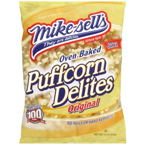 Mike-sell's Oven Baked Original Puffcorn Delites, 11 oz