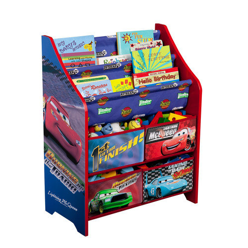 Delta Children Disney Pixar Cars Book & Toy Organizer