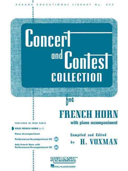 Concert and Contest Collection for Solo French Horn in F by