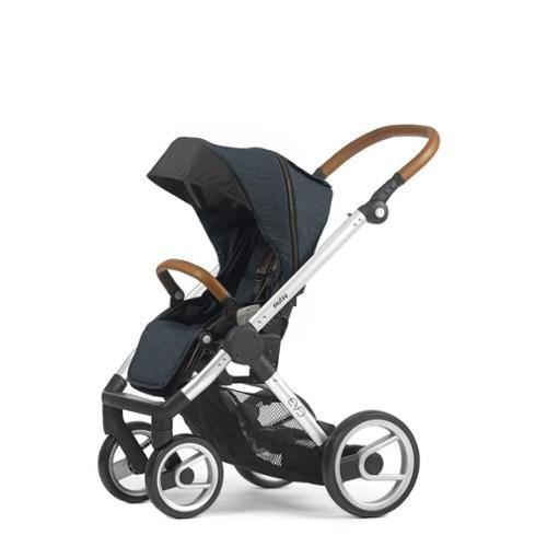 Mutsy Evo Industrial Edition Stroller - blue with silver ...