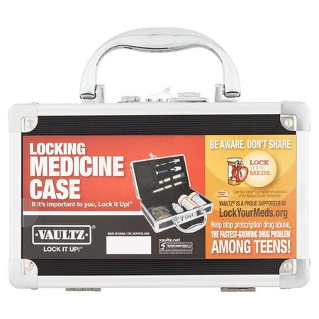 Alarm Medication Reminder - Vaultz Locking Medicine Case