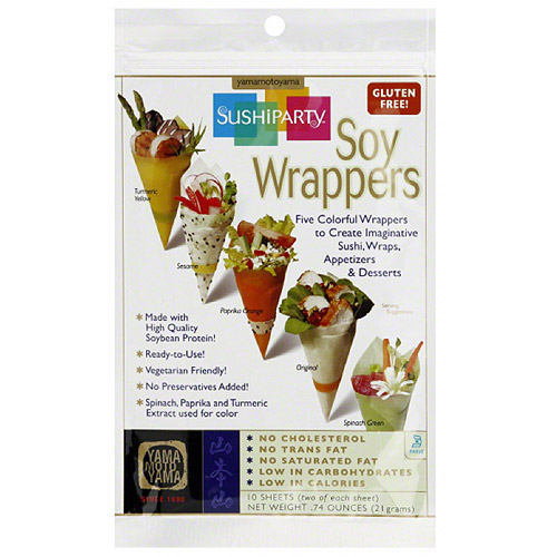 Sushiparty Soy Wrappers, 0.74 oz, (Pack of 24)