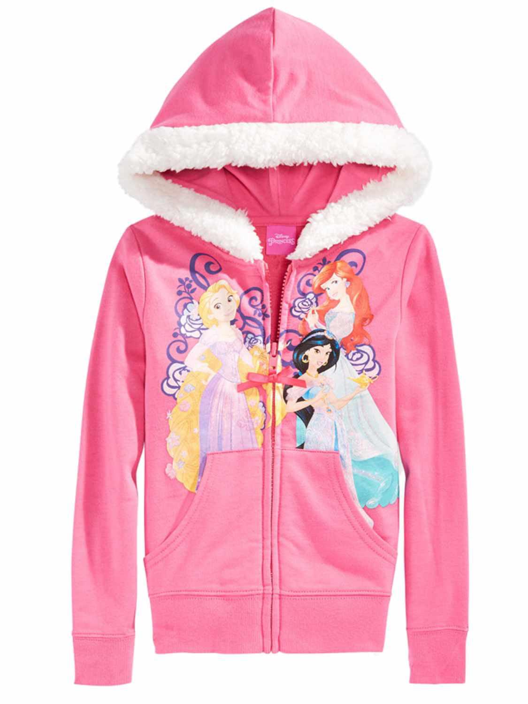 Disney Princess Hoodie for Girls Pink