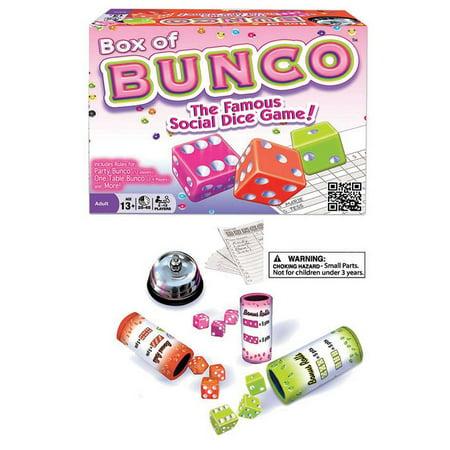 - Box of Bunco Dice Game