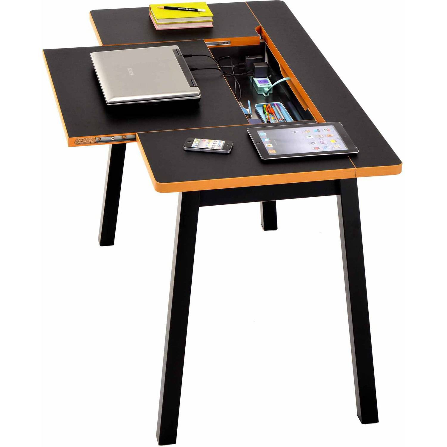 Flexx Multi-Functional Desk with Storage, Multiple Colors