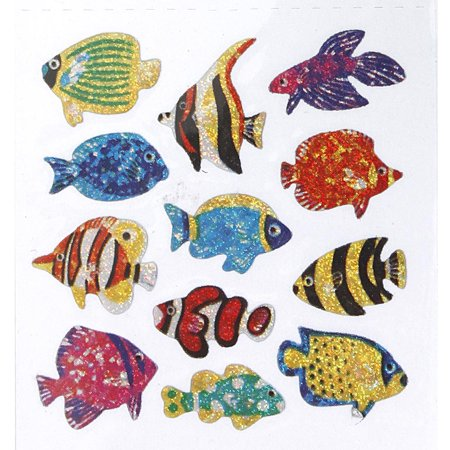 - Tropical Fish Sandylion Acid-Free Stickers