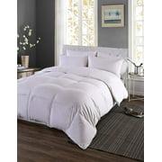 Medium Fill European White Goose Down Comforter 340 Thread Count 600 Fill Power, Twin
