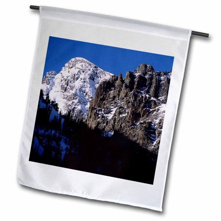 3dRose Glacier Gorge Rocky Mountain National Park - Garden Flag, 12 by