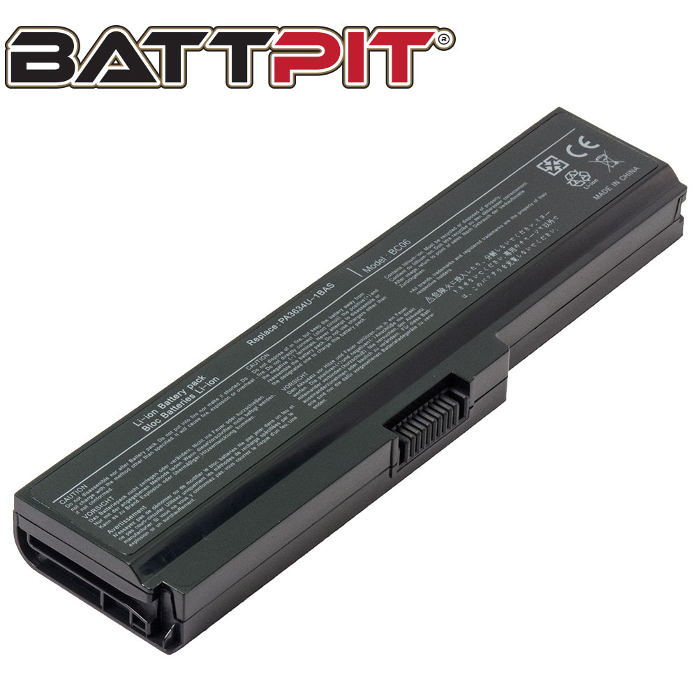 BattPit: Laptop Battery Replacement for Toshiba Satellite P755-S5265