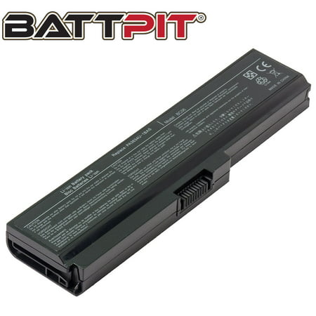 BattPit: Laptop Battery Replacement for Toshiba Satellite L515-SP4012L, PA3635U-1BAM, PA3638U-1BAP, PABAS178, TS-M305 (10.8V 4400mAh 48Wh)