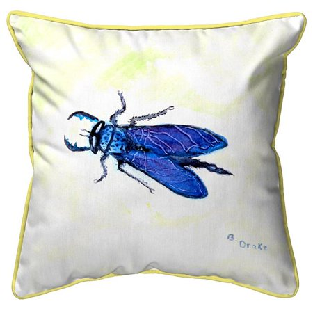 Betsy Drake HJ848 18 x 18 in. House Fly Large Indoor & Outdoor Pillow House Large Outdoor Wall