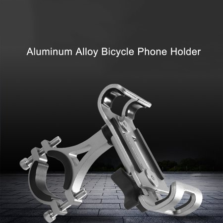 Adjustable Motorcycle Handlebars - Mountain Bicycle MTB Aluminum Alloy Phone Holder Motorcycle Cellphone Handlebar Mount Cradle Adjustable 360° Rotatable Bike Smartphones Bracket