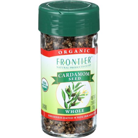 Frontier Natural Products Cardamom Seed, Whole, 2.68 - Frontier Cardamom Seed