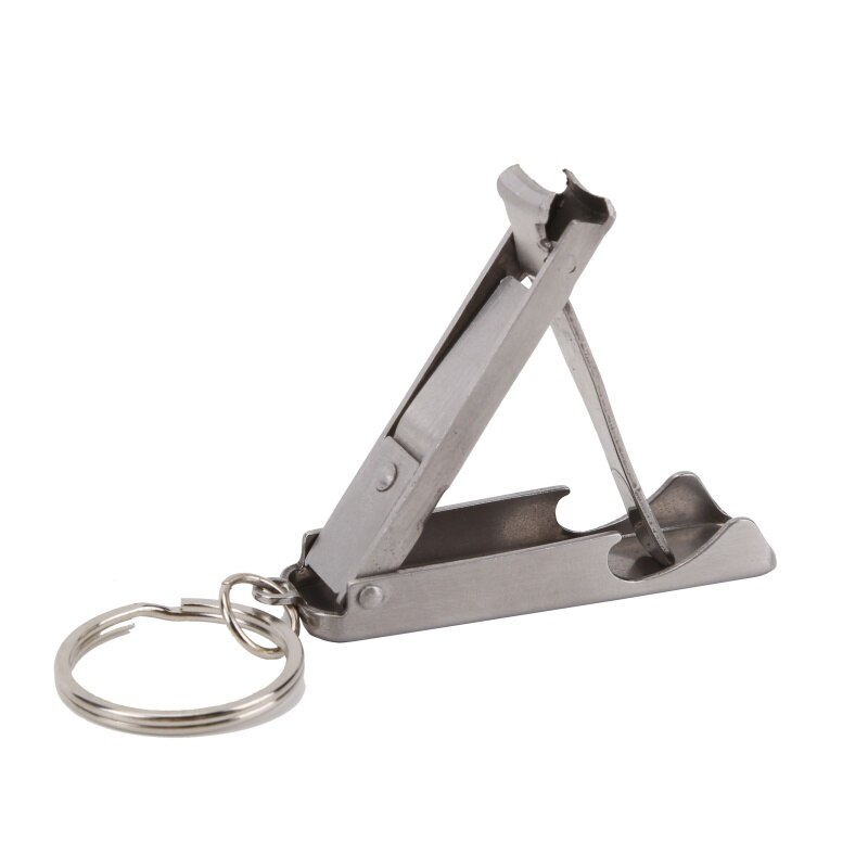 Kit EDC File Clippers Toe Bottle Opener Hand Nail Cutter Foldable Cutter