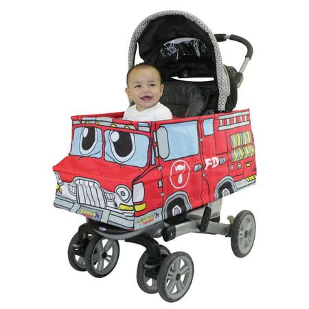 Fire Truck Stroller Costume