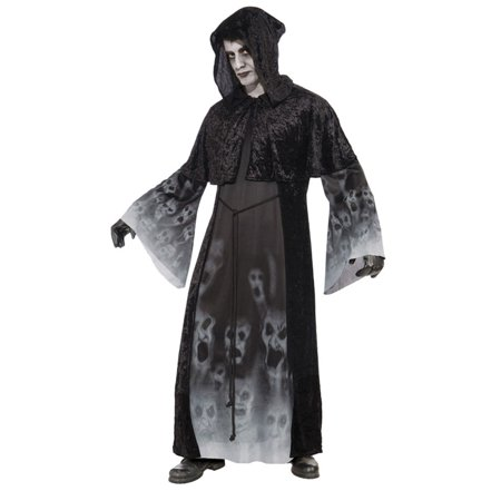 Morris Costumes Mens New Ghosts Forgotten Souls Costume Black Standard, Style FM70522 for $<!---->