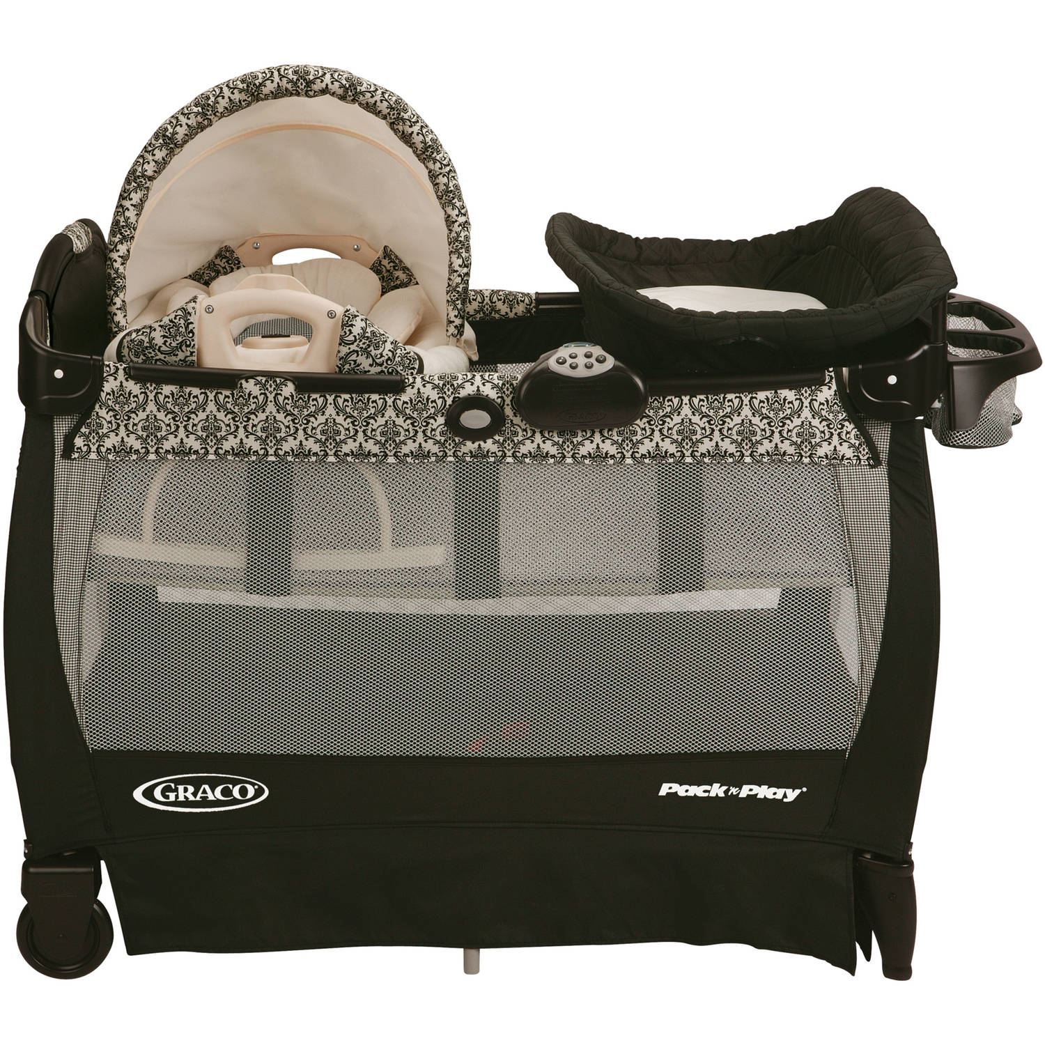 Graco Pack 'n Play Playard with Cuddle Cove - Rittenhouse - Walmart.com