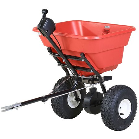 Earthway 2050TP Estate 80 Pound Garden Tractor Tow Behind Broadcast Spreader