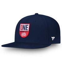 New England Revolution Fanatics Branded Hometown Adjustable Snapback Hat - Navy - OSFA