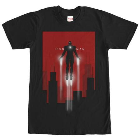 Marvel Men's Iron Man in Flight T-Shirt - Iron Man Toddler Shirt