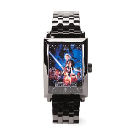 Star Wars Vol. 2 Return of The Jedi Square Frame Metal Wrist Watch ()