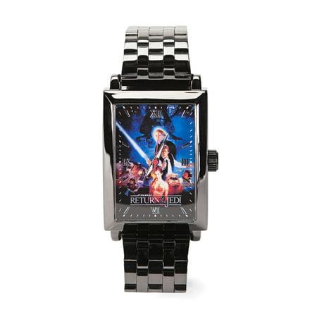 Star Wars Vol. 2 Return of The Jedi Square Frame Metal Wrist (2005 Burger King Star Wars Watches Value)