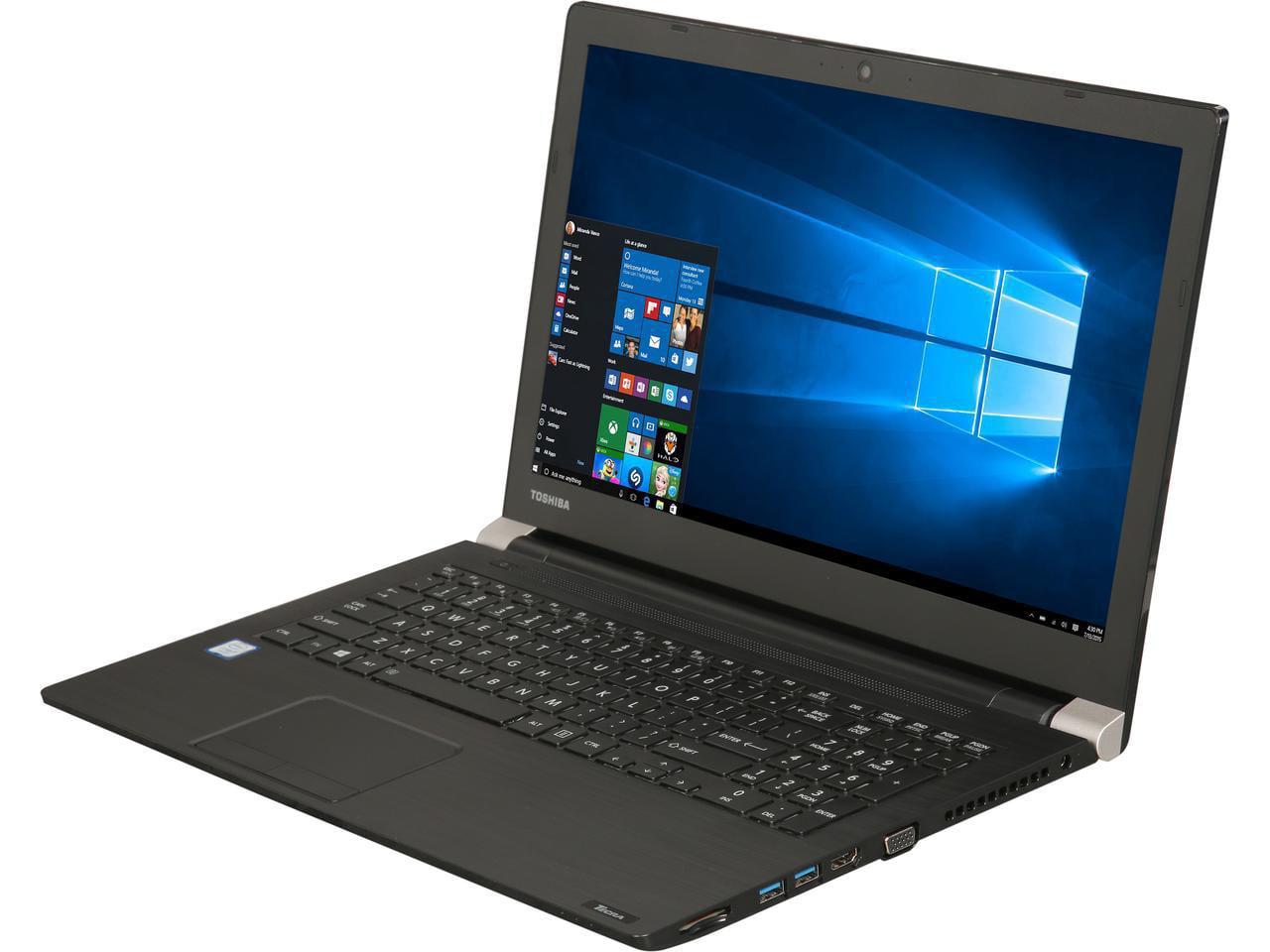 TOSHIBA Laptop Tecra A50-02H01S Intel Core i7 7th Gen 7500U (2.70 GHz) 8 GB Memory 256 GB M.2 SSD Intel HD... by Toshiba