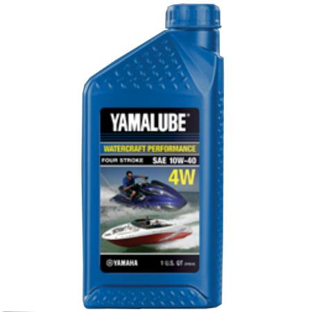 Yamaha Yamalube OEM WaveRunner Jet Boat 4W Engine Oil 32oz Quart  LUB-10W40-WV-12