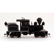 Bachmann On30 Scale Train 14 Ton Two-Truck Stearns-Heisler Steam Loco DCC Equipped Black with White Trim 28803
