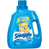 Snuggle Liquid Fabric Softener, Blue Sparkle, 120 Ounce, 150 Loads