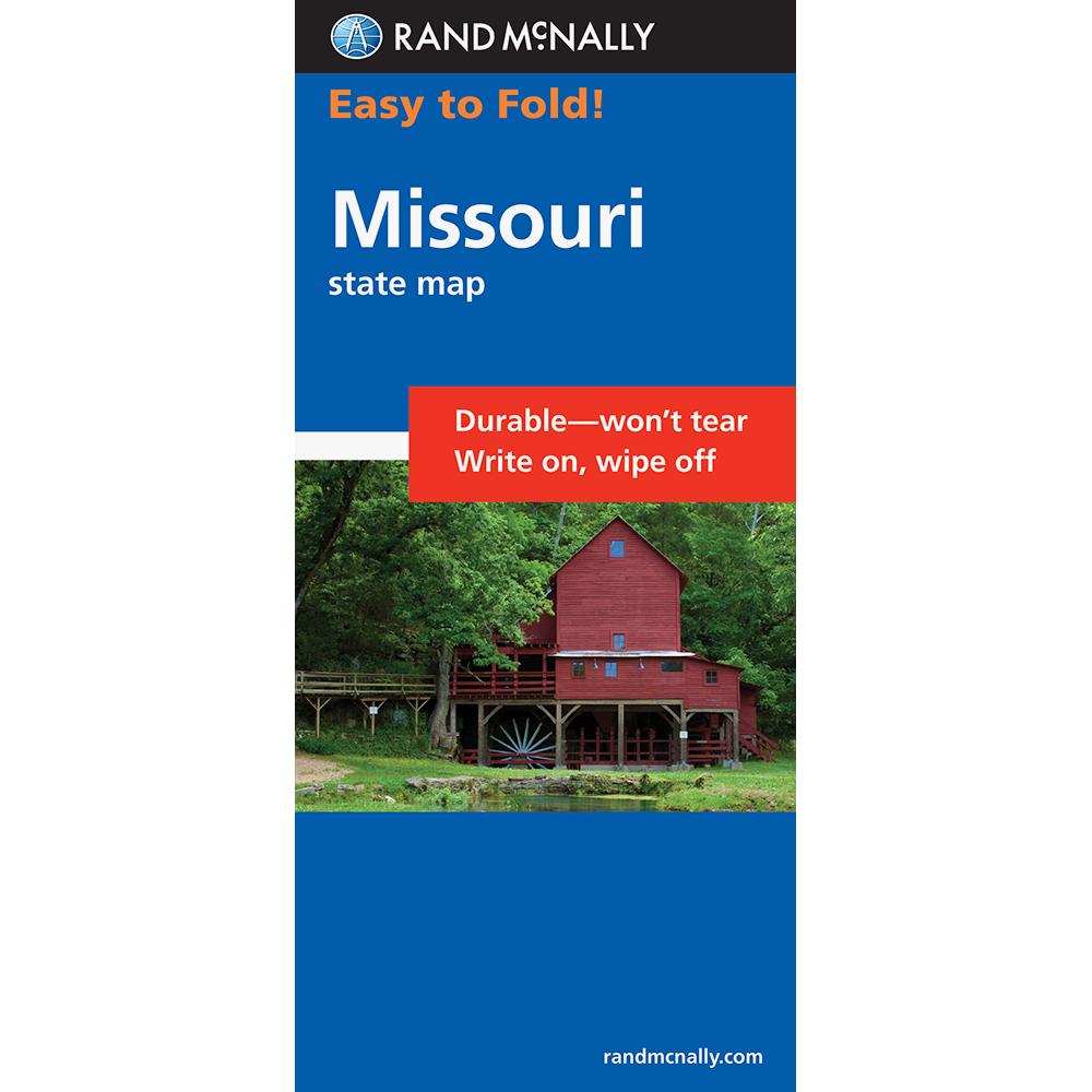 Rand Mcnally Easyfinder Missouri