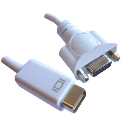 professional cable 6 mini dvi to vga female adapter. Black Bedroom Furniture Sets. Home Design Ideas