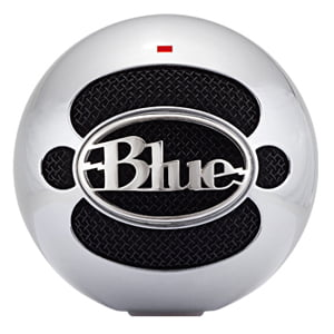 Blue Microphones Snowball USB Condenser Microphone, Brushed Aluminum by Blue Microphones