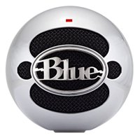 Blue Microphones Snowball USB Condenser Microphone, Brushed Aluminum