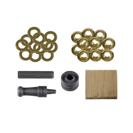 Brass Grips - GRIP 78991 Grommet Repair Kit, Brass, 27 Pieces