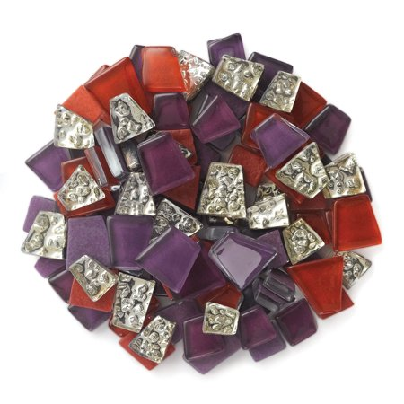 Cut Out Assortment - Crafter's Cut Pre-Cut Mosaic Assortment - Jazz Color Family, 8 oz