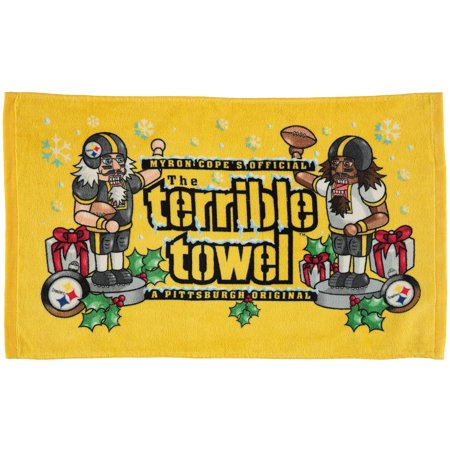 Pittsburgh Steelers Holiday Terrible Towel - No Size