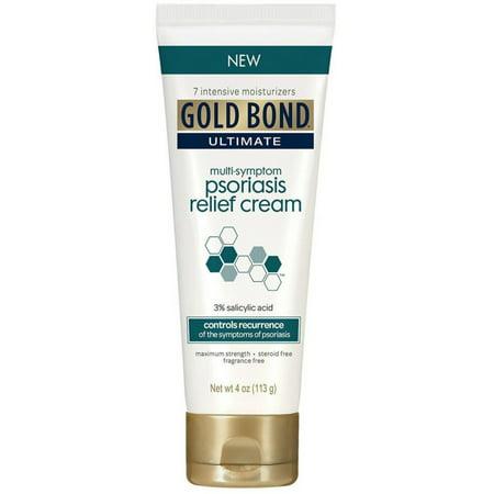 Psoriasis Relief Liquid (Gold Bond Ultimate Multi-Symptom Psoriasis Relief Cream 4 oz (Pack of 2) )