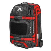 American Kargo Carry-On Roller Gear Bag Red