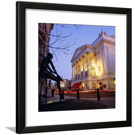 The Royal Opera House, Covent Garden, London, England, UK Framed Print Wall Art By Roy (Covent Opera Glasses)
