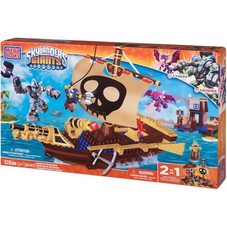 Mega Bloks Skylanders Giants Crusher's Pirate Quest Play Set