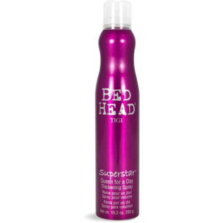 TIGI Bed Head Superstar Queen for a Day Thickening Spray, 10.2 oz (Pack of