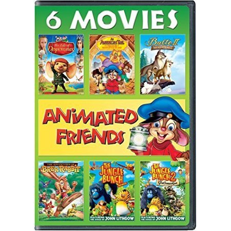 Animated Friends 6 Movie Collection