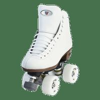Riedell Quad Roller Skates - 120 Raven (White)
