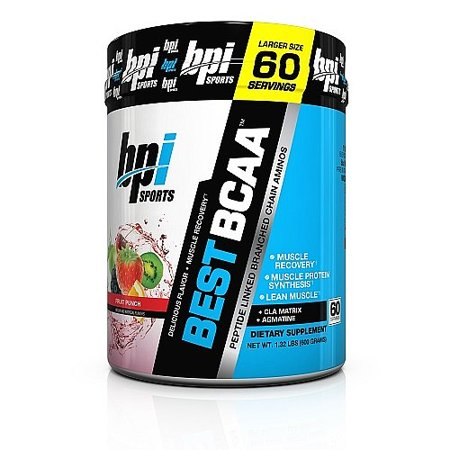 BPI Sports Best BCAA, Fruit Punch, 21.16 Oz