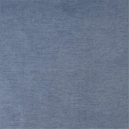 Designer Fabrics D205 54 in. Wide Dark Blue, Striped Woven Velvet Upholstery Fabric ()