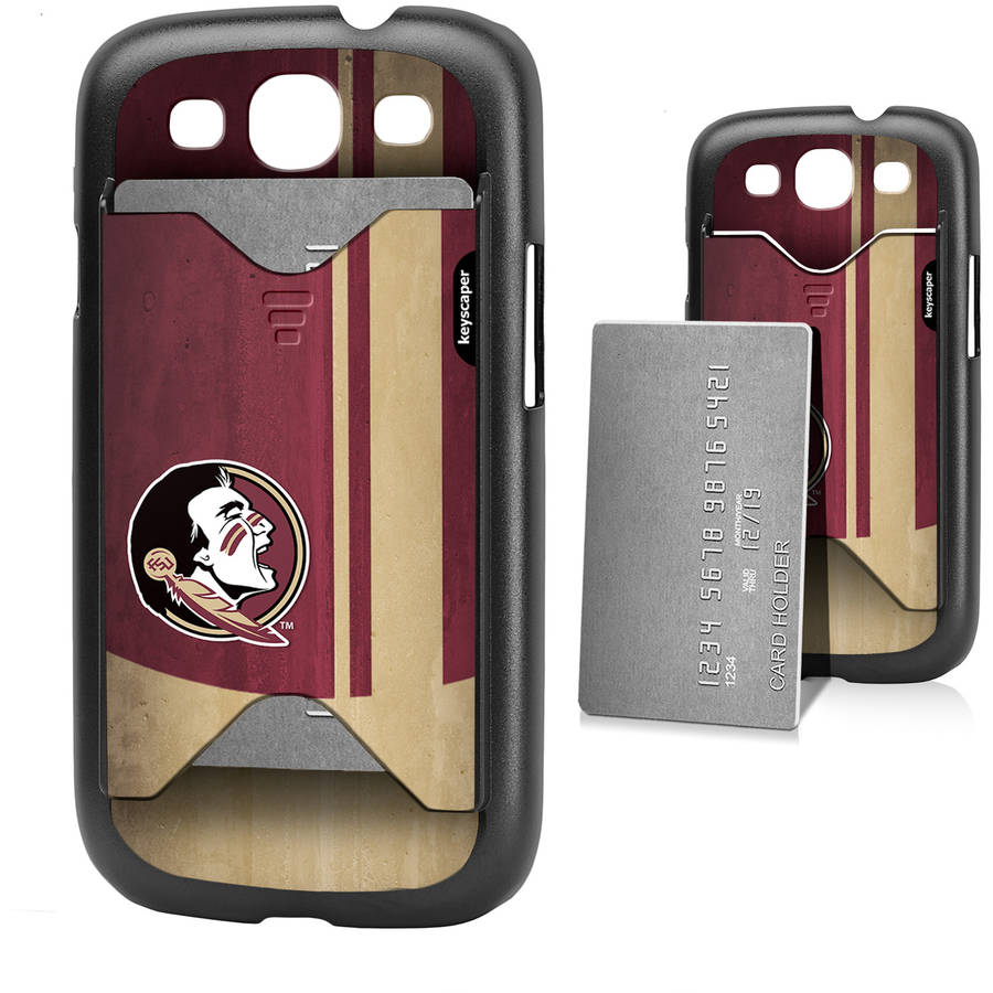 Florida State Seminoles Galaxy S3 Credit Card Case