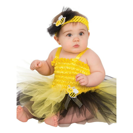 Baby Bumble Bee Tutu Costume - Bumble Bee Halloween Costume 12 Month